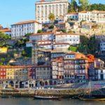 Porto riverside color houses