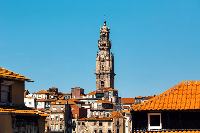 Porto tallest bell tower